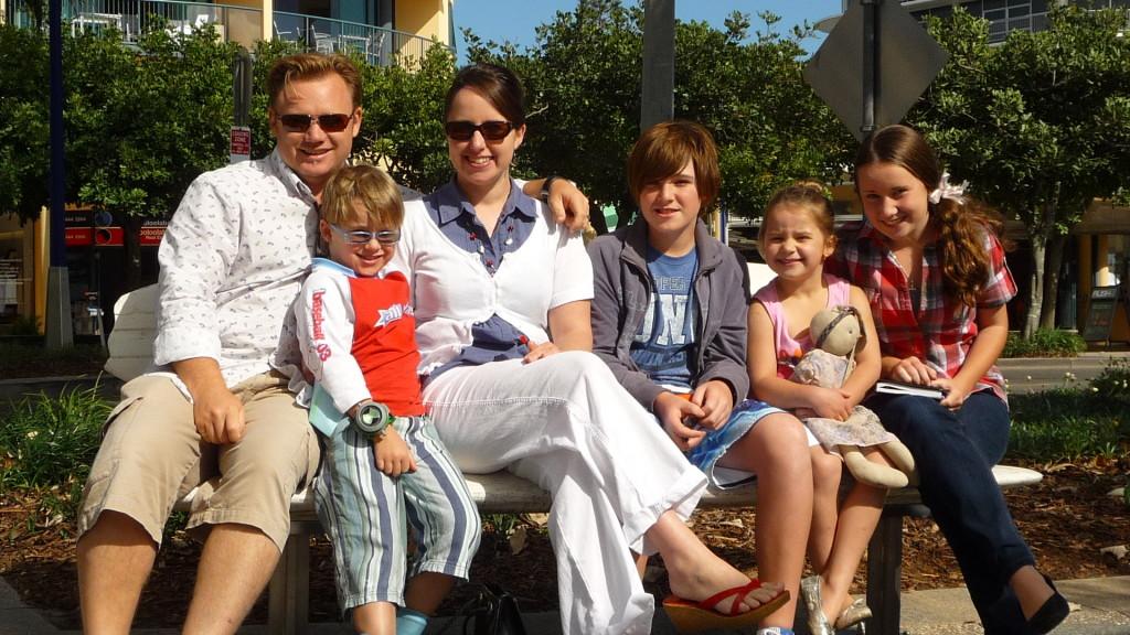 Tony Moore Family